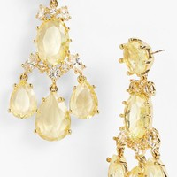 kate spade new york 'up the ante' stone chandelier earrings