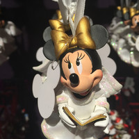 disney parks minnie mouse angel choir resin christmas ornament new with tags