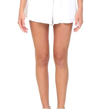 Ivory Flowy Shorts at Blush Boutique Miami - ShopBlush.com : Blush Boutique Miami – ShopBlush.com