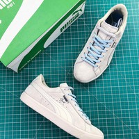 Puma Clyde Venice Grey Sneakers - Best Online Sale