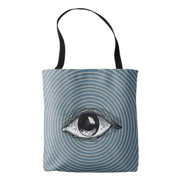 Pop Art Eye Tote Bag