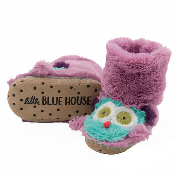 Party Owl Kids Plush Slippers