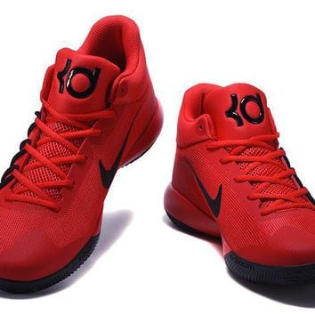 Beauty Ticks 2017 Nike Zoom Kevin Durant Trey6 Red /black Basketball Shoes