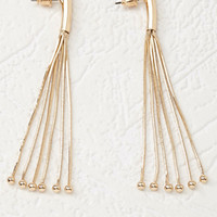 Snake Chain Fringe Earrings
