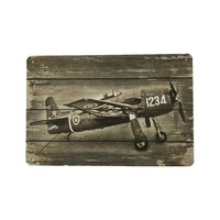 Battle Plane Vintage Tin Sign Bar Wall Decor Metal