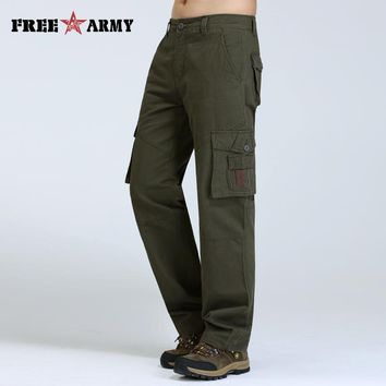 Military Men Biker Cargo Pants Casual Men Jeans Cheap Slim Straight Male Jeans Pockets Trousers For Men Overalls Pants Mk76121