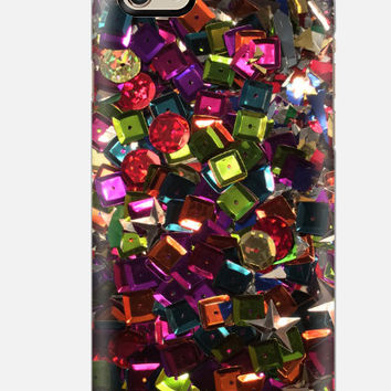iPhone 6 case, Sequins iPhone 5c Case, Sequins iPhone 6 Case, iPhone 5C Case, botanical cell case, cellcasebythatsnancy