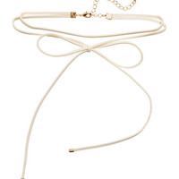 H&M Choker Necklace with Bow $6.99