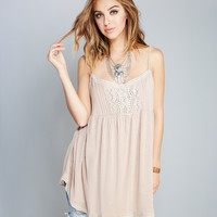 Crocheted Babydoll Tunic | Wet Seal