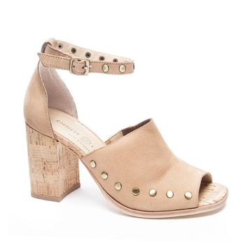 Savana Cork Block Heel Sandal by Chinese Laundry
