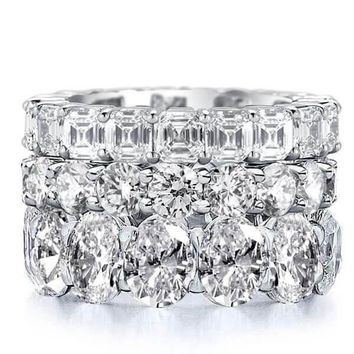The Al Ain, A Stunning 29.80TCW Sapphire Stacking Set