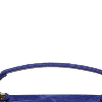 Proenza Schouler Cobalt Blue Suede Ps1 Medium Messenger Bag