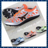 ultralight long race sprint dash spikes running shoes women trainers sport breathable athletic sneakers track field shoes