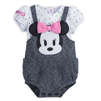 Minnie Mouse Layette Romper for Baby | Disney Store
