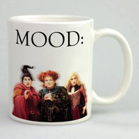 Hocus Pocus Mood Mug, Tea Mug, Coffee Mug