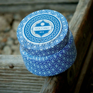 Capri Blue Printed Travel Tin 8.5 oz.