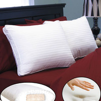 Peaceful Dreams™ Memory Foam Core Pillow