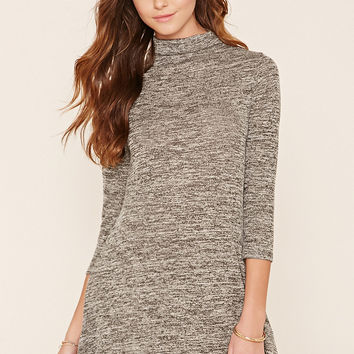 Marled Knit Dress