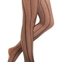 Linear and Lattice Tights | Mod Retro Vintage Tights | ModCloth.com