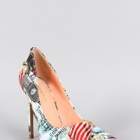 Shoe Republic City Pointy Toe Pump