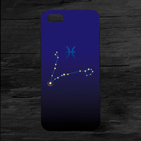 Pisces Zodiac Case for iPhone 4 and 5