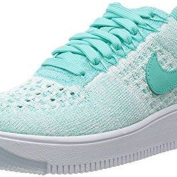 Nike Women's AF1 Flyknit Low Casual Shoe air force ones nike