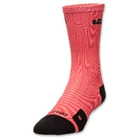 Men's Nike LeBron Elite Court Crew Basketball Socks