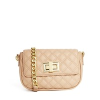 ASOS Quilted Cross Body Bag with Chunky Chain