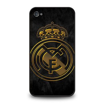 REAL MADRID GOLD iPhone 4 / 4S Case Cover