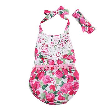 Summer Baby Rompers Cotton Brand Baby Costumes Baby Girls Clothes Newborn Cute Infant Jumpsuit Clothing