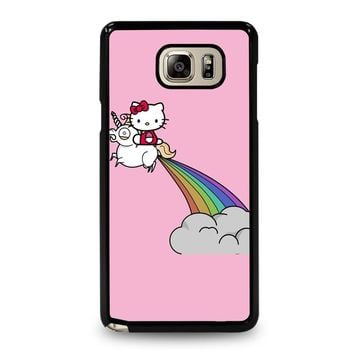 HELLO KITTY UNICORN Samsung Galaxy Note 5 Case Cover