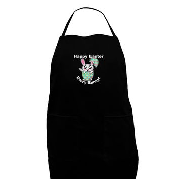Happy Easter Every Bunny Plus Size Dark Apron by TooLoud