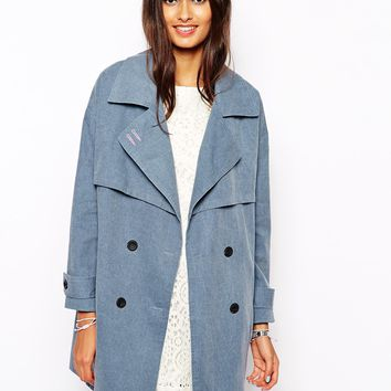 The Laden Showroom X Zacro Oversized Washed Trench Coat