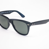Ray-Ban RB 2140 Original Wayfarer 901/58 Black Polarized Sunglasses