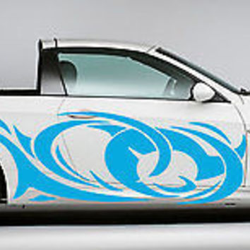 Tribal Tattoo Street Racing Design Drift Tuned Car vinyl graphics SUV tr040
