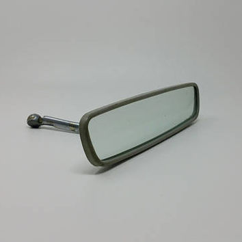Vintage GM Delco Guide Glare Proof 10 Inch Rear View Mirror Original Chevy Buick Mirror