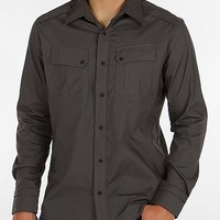 Buckle Black Polished Please Shirt