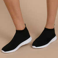 Steve Madden Fabs Knit Sock Sneakers