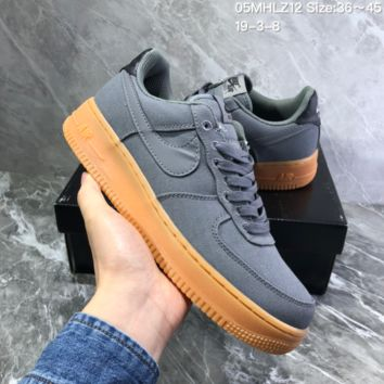 DCCK2 N1016 Nike AF1 Ventile Low Breathable Sneaker gray