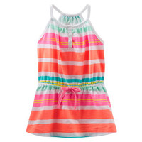 TLC Tunic in Neon Stripes