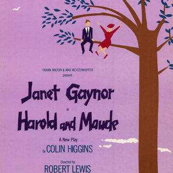 Harold and Maude 11x17 Broadway Show Poster (1980)