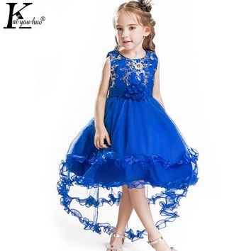 New Kids Dresses For Girls Clothes Princess Christmas Dress Party Tutu Wedding Dress Children Clothing Vestido 3 4 5 6 7 8 Years