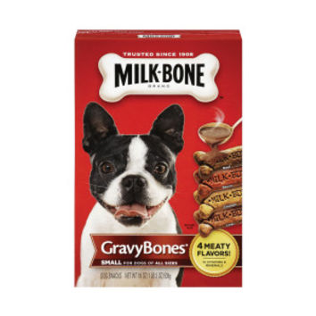 MILK-BONE® Gravy Bones Dog Biscuit | Biscuits & Bakery | PetSmart