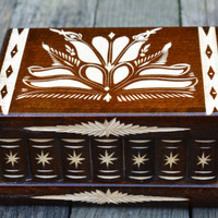 Secret Box Deluxe Edition Puzzle Box locking box brain teaser wooden jewelry box money trinket box trick box secret stash box recipe box fun