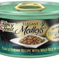 Fancy Feast Elegant Medleys Tuna/Shrimp/Rice Canned Cat Food 24/3 oz