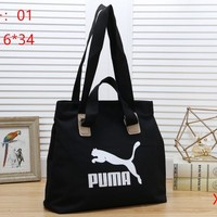 PUMA Women Fashion Satchel Tote Shoulder Bag Handbag