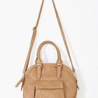 Caterina Bowler Bag - Nude