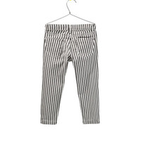 STRIPED CLAM DIGGERS - Trousers - Girl - Kids - ZARA United States