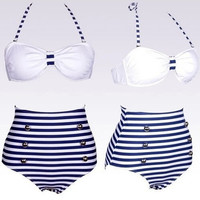 shiny bikini plus size maternity swimwear swim one piece vintage high waisted bikini sets = 1946883652