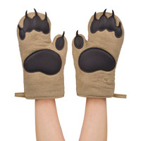 Bear Hands Oven Mitts